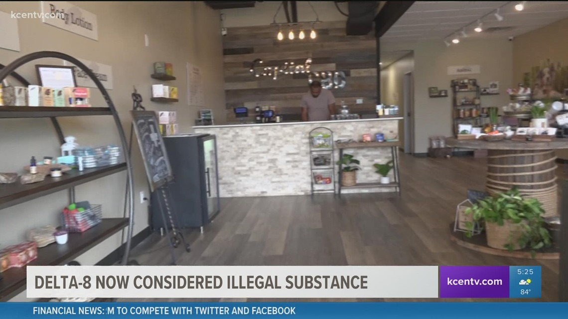 Delta-8 now considered illegal substance in Texas