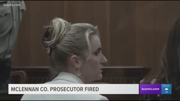 McLennan Co. prosecutor fired