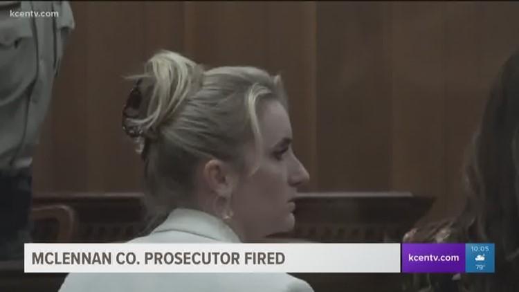 McLennan Co. prosecutor fired