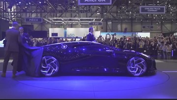 What's Trending: Bugatti unveils the world's most expensive car
