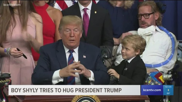 When Is It Appropriate to Hug The President?