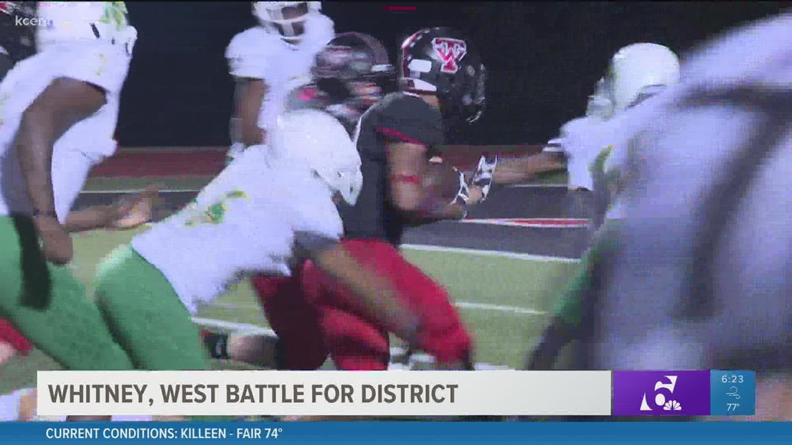 Preview of Whitney, West battle for district