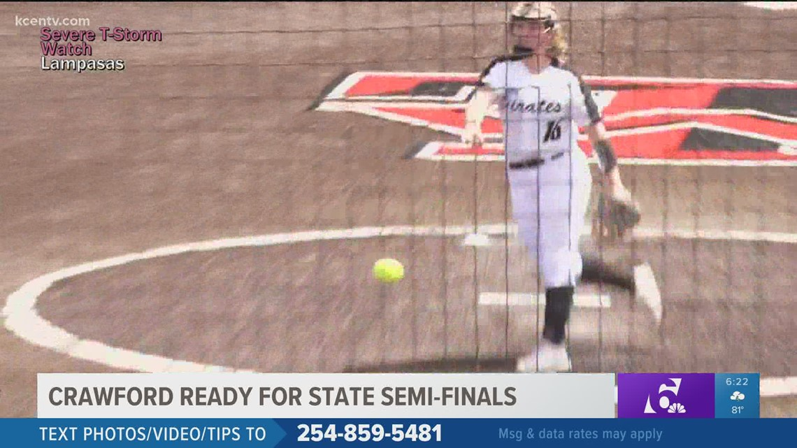Crawford Lady Pirates softball ready for state-semifinals