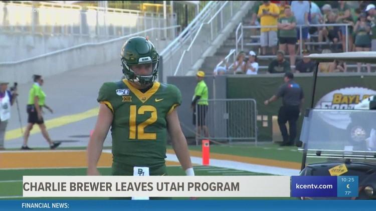 Former Baylor quarterback leaves Utah program