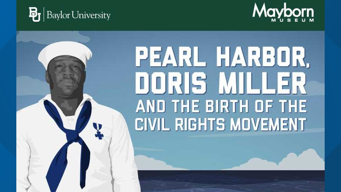 Hometown hero Doris Miller honored in virtual event