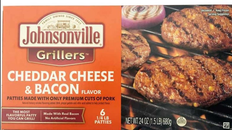 Johnsonville grillers recall