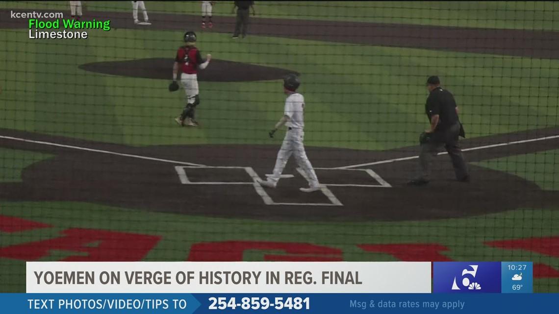 Yoemen on verge of history in baseball