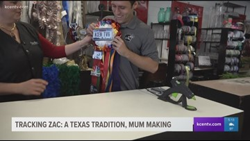 Tracking Zac: A Texas tradition, mum making