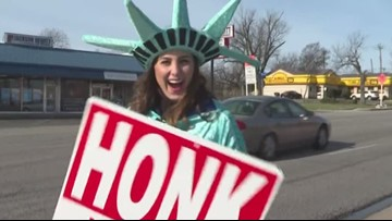 Hiring Heidi: Sign holder at Liberty Tax