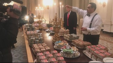What's Trending: Trump treats Clemson football team to fast food buffet