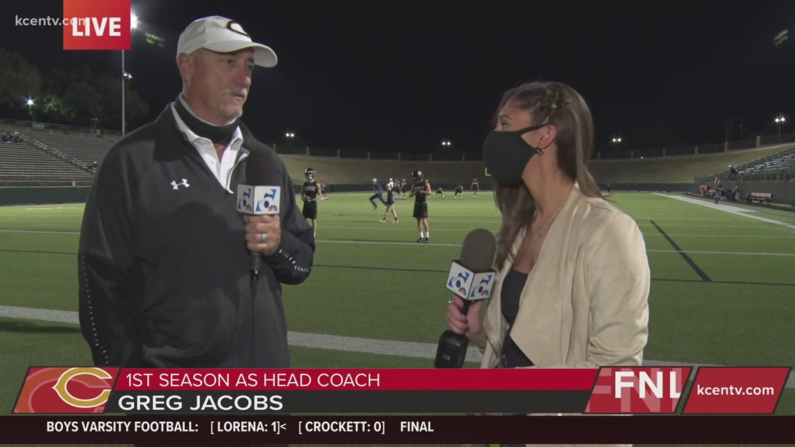 Crawford Head Coach Greg Jacobs talks about matchup before the game | FNL Preview
