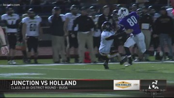 FNL PLAYOFFS WEEK ONE: Junction vs. Holland