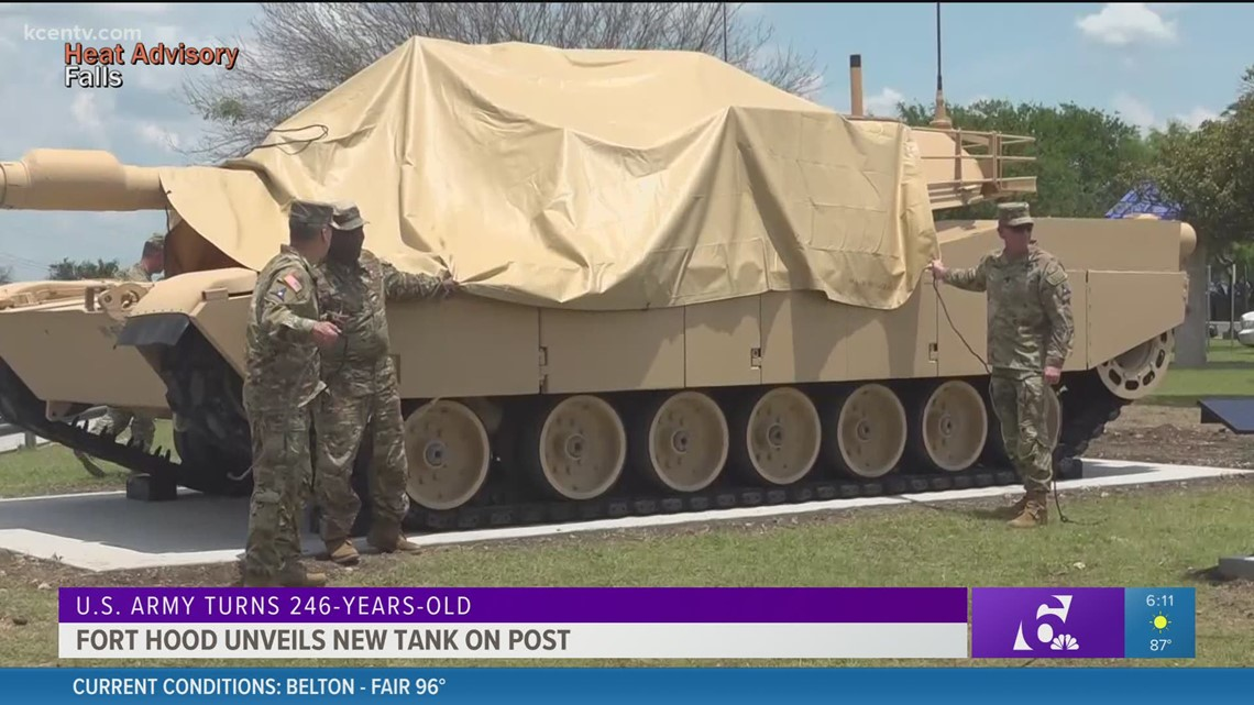 Fort Hood celebrates US Army birthday with day of events, tank unveiling
