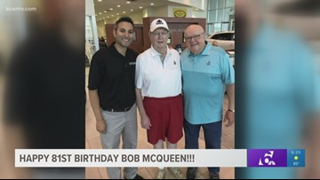 Happy 81st Birthday to former Temple football coach Bob McQueen