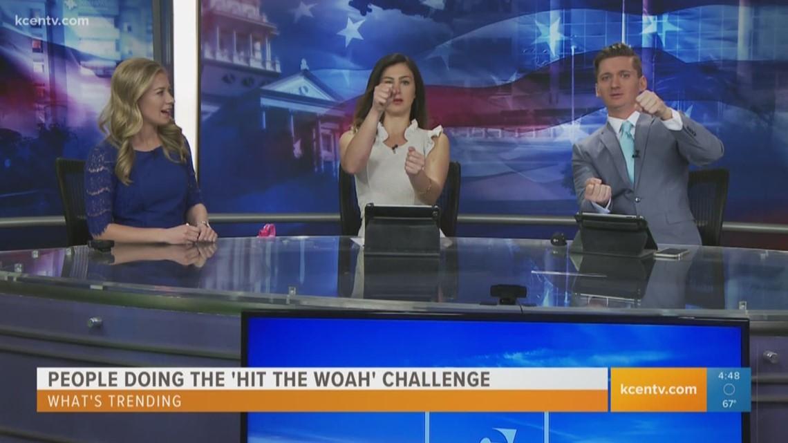 Temple Tx News >> What's Trending: 'Hit The Woah' Challenge | kcentv.com