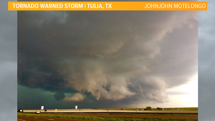 Storm clouds over Tulia