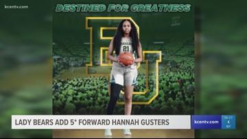 Lady Bears add 5-star recruit forward Hannah Gusters