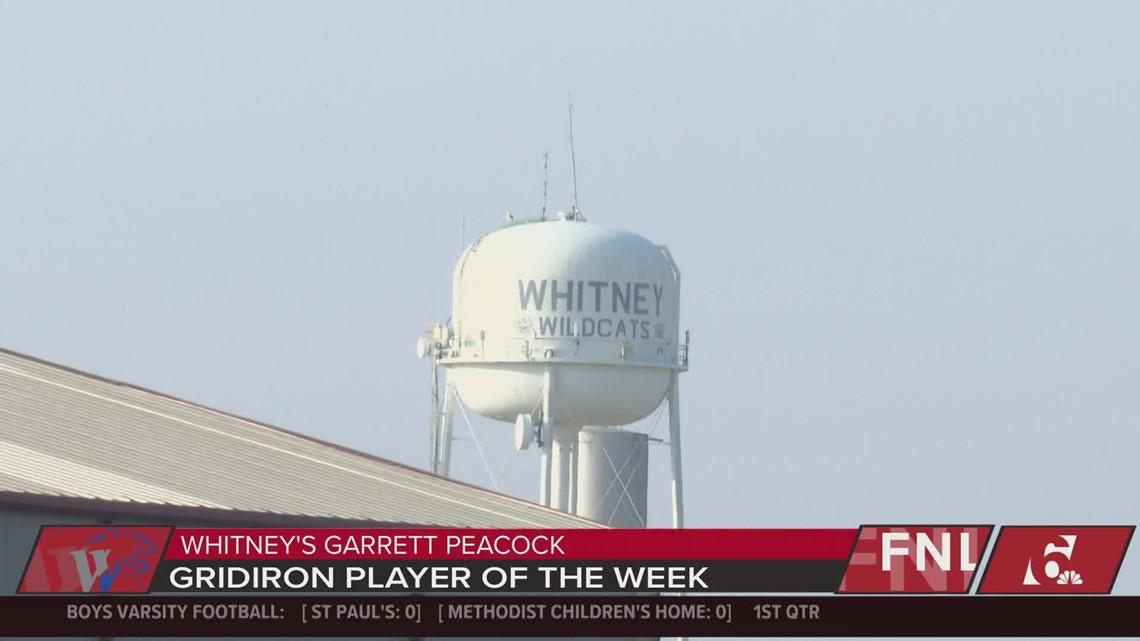 FNL Gridiron Player of the Week: Garrett Peacock of Whitney