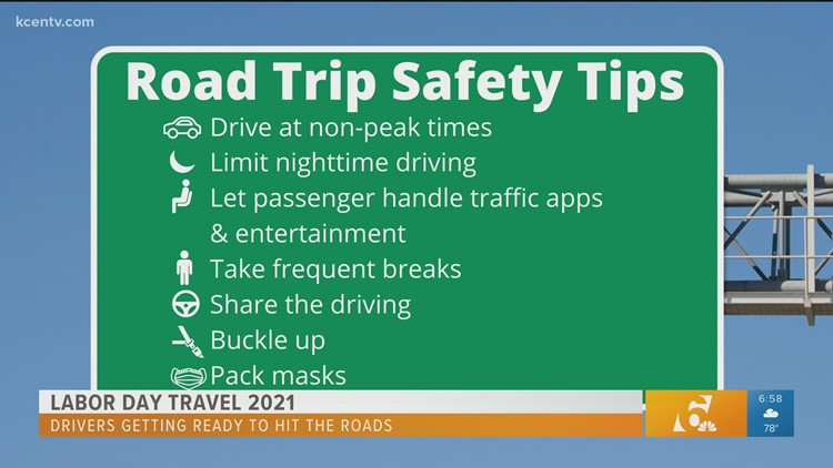 Labor Day weekend travel safety tips