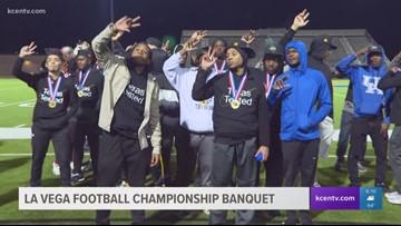 La Vega Football continues celebration with championship banquet