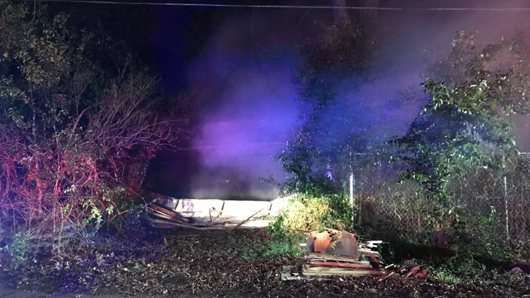Structure fire at 900 block of N. 31st St. in Waco on Feb. 11, 2019