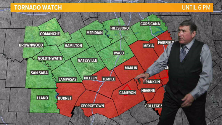 1 tornado confirmed in Cameron, Milam County Sheriff's ...