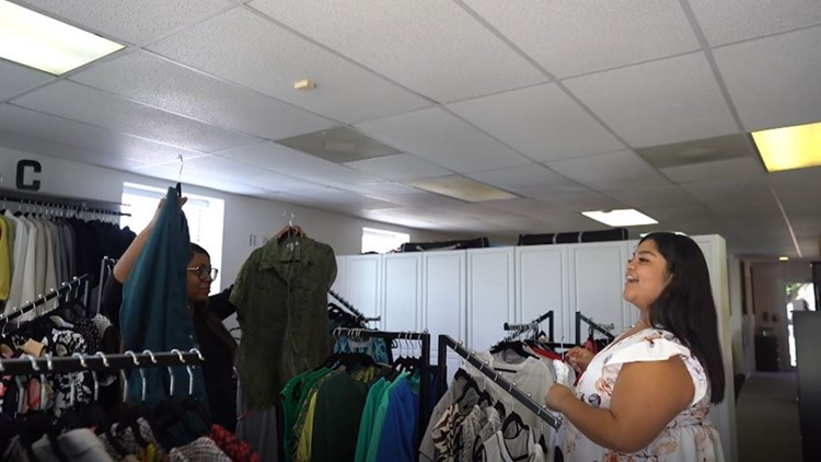 Esther's Closet in Waco provides free business clothes to those looking to land the perfect job