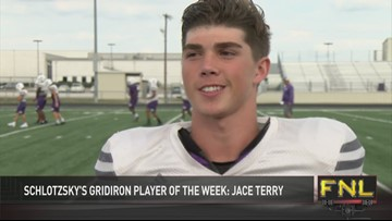Gridiron Player of the Week: Jace Terry (Mart)