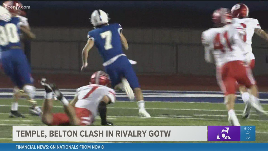 GOTW: Temple, Belton rivalry returns tonight after two years