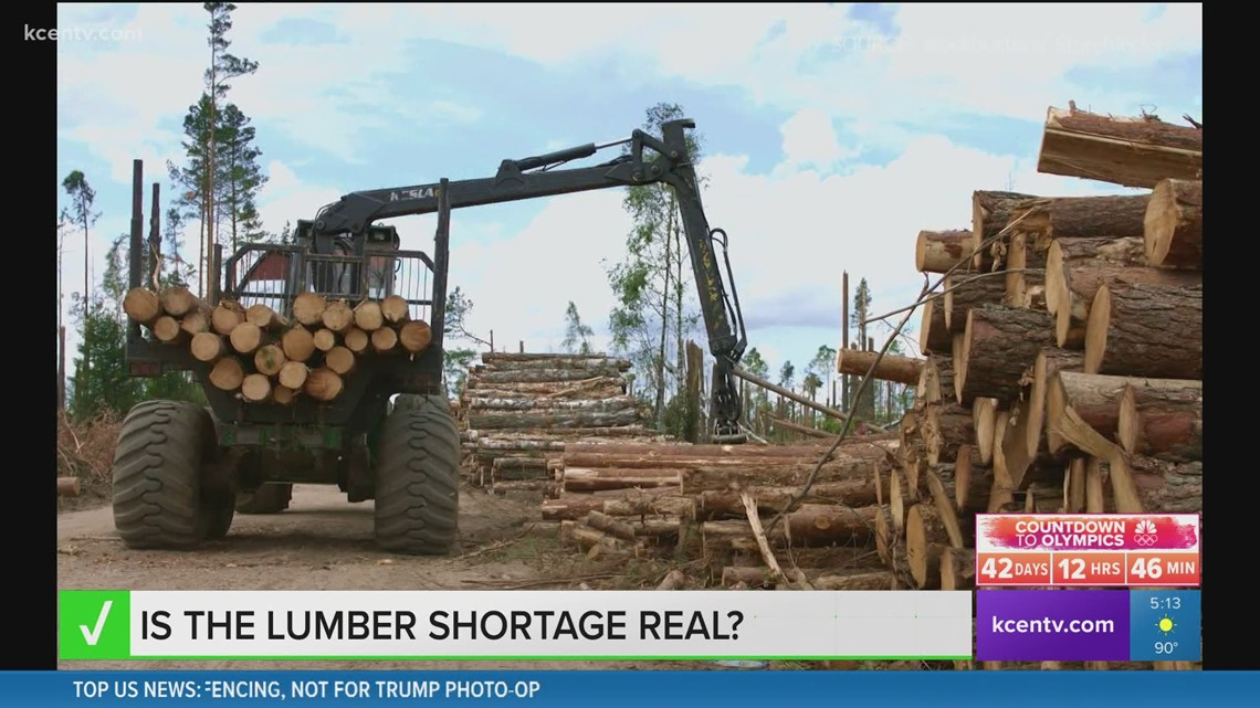 Verify | Is the lumber shortage real?