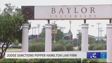 Judge sanctions Pepper Hamilton law firm for 'knowingly violating a court order' during Baylor investigation