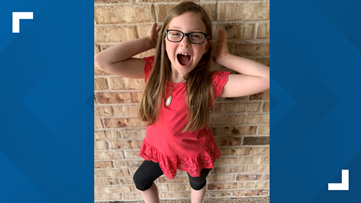Hewitt girl gives daily forecast to bring joy to the community
