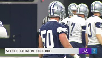Dallas Cowboys linebacker Sean Lee facing reduced role