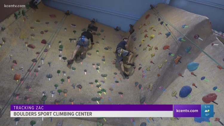 Tracking Zac: Boulders Sport Climbing Center