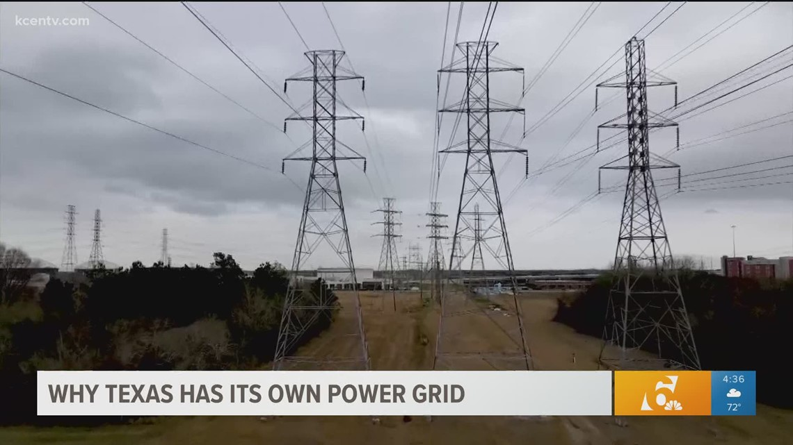 The reason why Texas has its own power grid