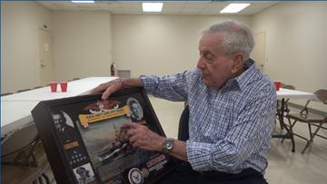 WWII Pacific theater veteran shares experiences on his 100th birthday
