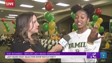 DiDi Richards pumped about Lady Bears' No. 1 seed for NCAA Tournament