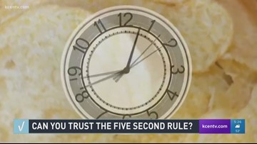 VERIFY: 5-second rule, fact or fiction?