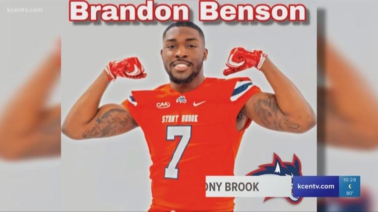Former La Vega standout Brandon Benson transfers to Stony Brook