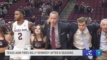 Texas A&M fires Billy Kennedy after 8 seasons