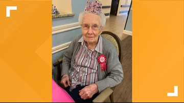 105 years young! Coolidge woman celebrates milestone birthday