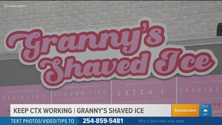 Granny's Shaved Ice is back with a permanent location