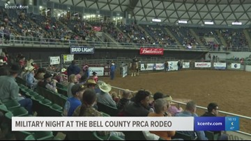 PRCA Rodeo holds military appreciation night