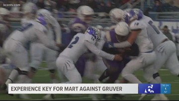 Experience key for Mart against Gruver