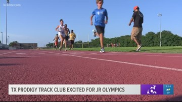 Texas Prodigy Track Club excited for Jr. Olympics
