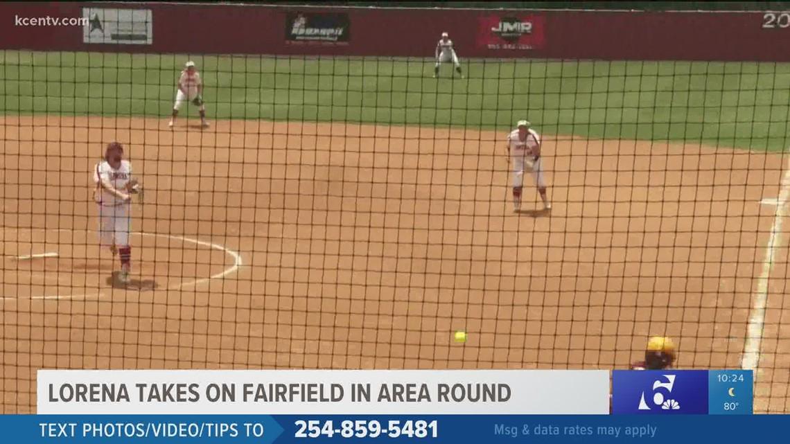 Lorena softball sweeps Fairfield in area round playoffs