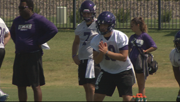 Offensive Line a bright spot at UMHB