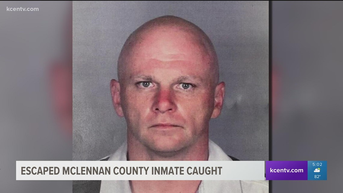 McLennan County deputies capture escaped inmate in Waco