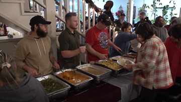 Killeen church gives meals and gifts to those in need Christmas day