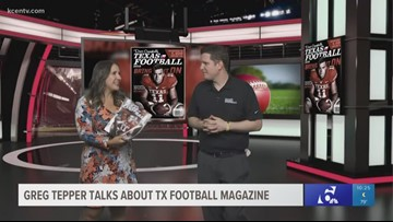 Managing editor of Texas Football Magazine joins KCEN Sports in studio